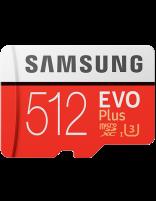 کارت حافظه microSD HC سامسونگ مدل Evo Plus ظرفیت 512 گیگابایت