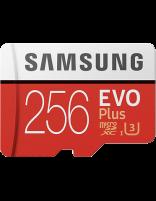 کارت حافظه microSD HC سامسونگ مدل Evo Plus ظرفیت 256 گیگابایت