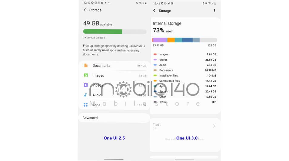 تفاوت UI 3.0 با UI 2.5