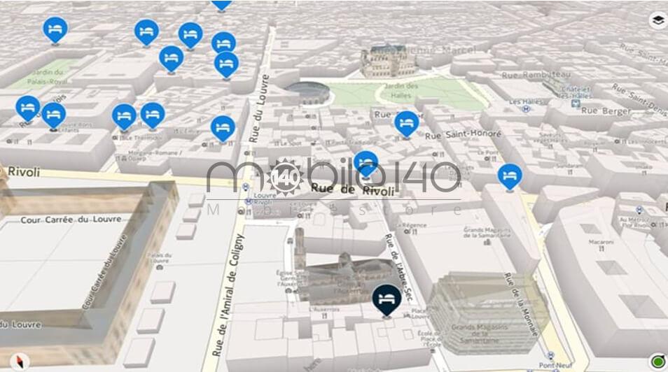 معرفی برنامه مسیریاب HERE Maps