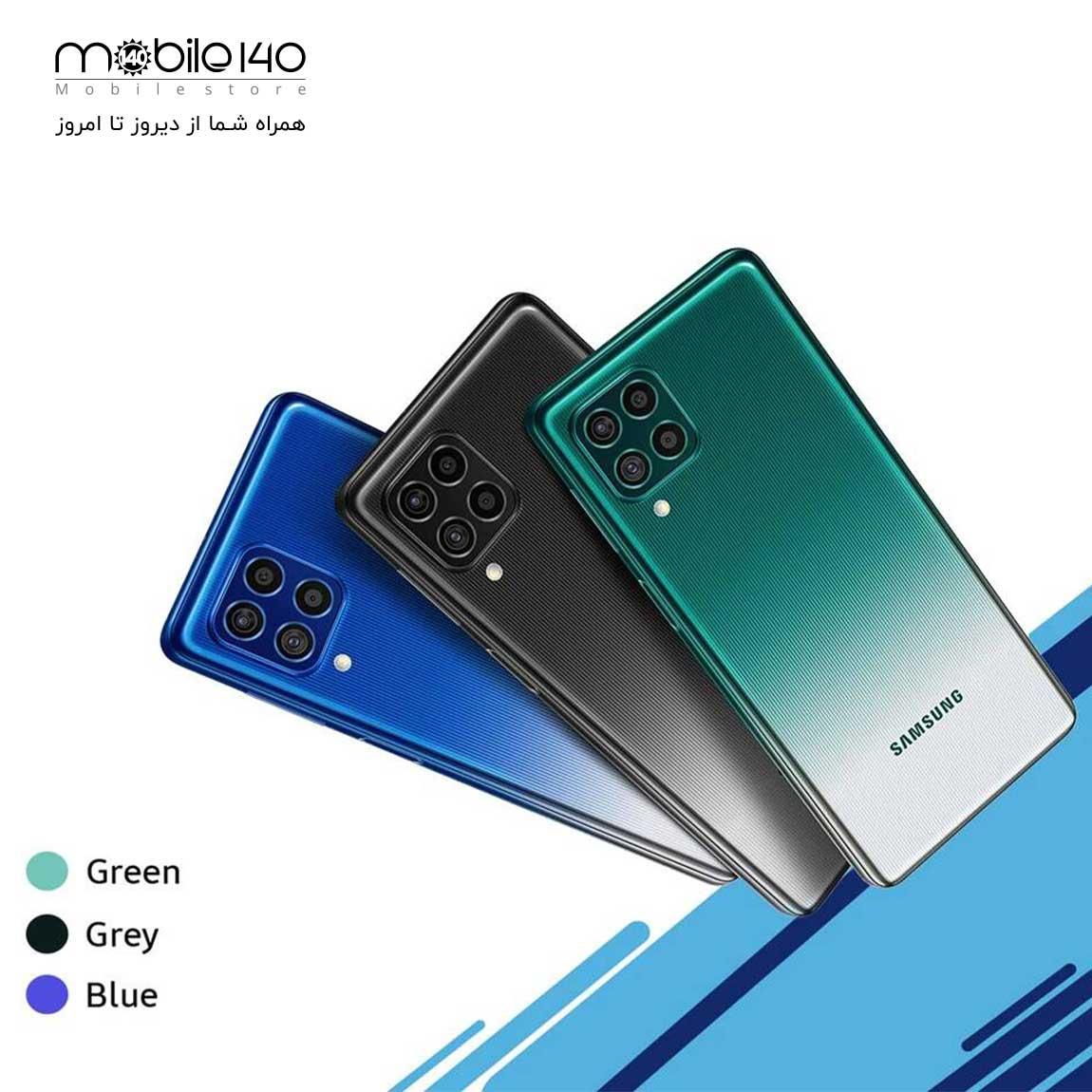 برای M62 طیف رنگی آبی لیزری، سبز لیزری و خاکستری لیزری در نظر گرفته شده است.