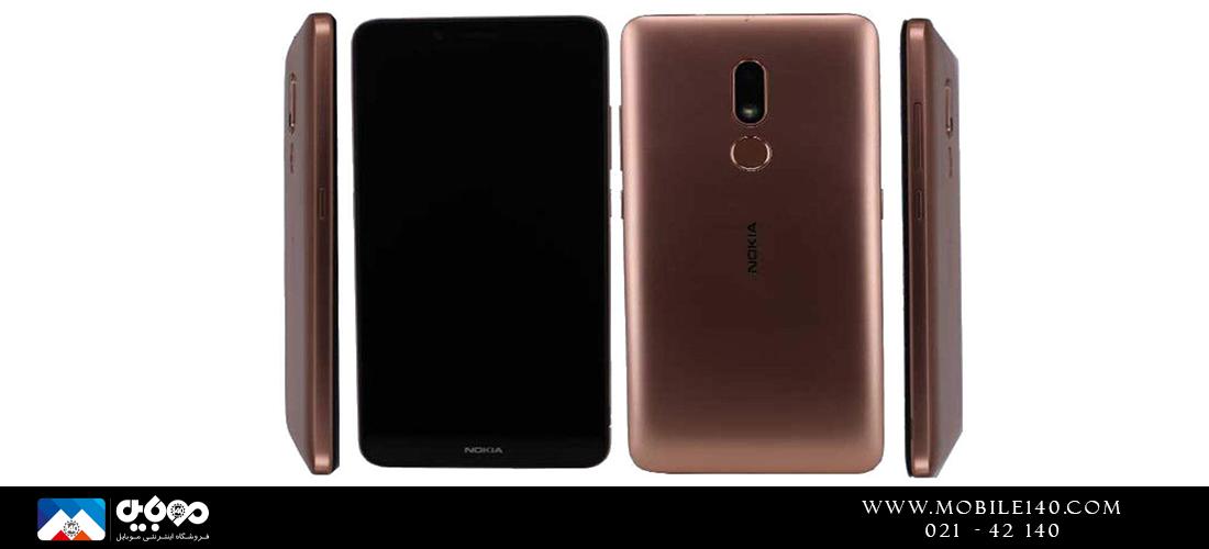 طراحی زیبای Nokia C3