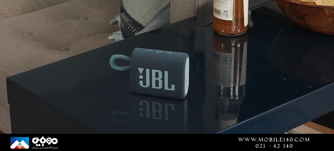 اسپیکر قابلحمل بلوتوثی JBL Go 3